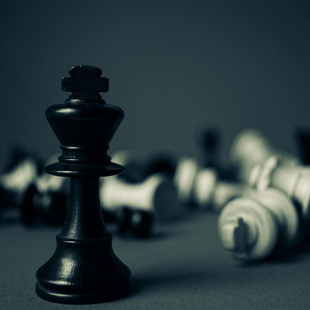 Schachfiguren - Umsatzsteigerung